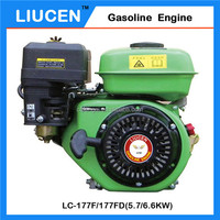 4 Stroke 270Cc 9HP 177F General 9Hp Gasoline Engine With Clutch