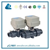 DN25 PVC Electric Actuator Ball Valve