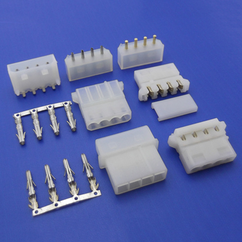 5.08mm Pitch AC Wire to Board Connectors Housing/Terminal/Wafer/1 500V AC/Minute Withstanding Voltage