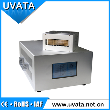 Instant on/off UV LED curing device for printer