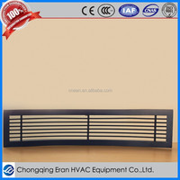 Aluminum Air Register /Linear Vent Used For Sidewall or Indoor Ceiling