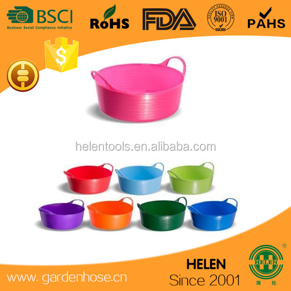 unique patent Flexible Rubber Bucket Multi Purpose Flexible Rubber Bucket