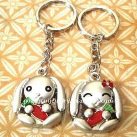 fashion dog keychain kids toys promotion gift christmas keyring key chain supplies