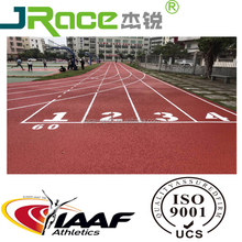 Outdoor permeable rubber running track rubber flooring