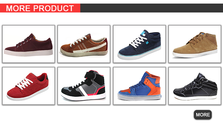2018 men Skateboard shoe with colorful size:40-46 ankos shoe factory