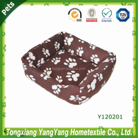 Pet printing comfortable plush pet nest