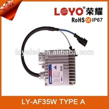 2015 Promotion Car accessories 35w hid ballast repair kit ,normal AC 35W ballasts HID auto manufactuer