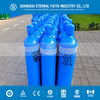 High Purity 5L Material 34CrMo4 Empty Oxygen Gas Cylinder , Argon/Co2/Helium/Nitrogen Oxygen Gas Cylinder
