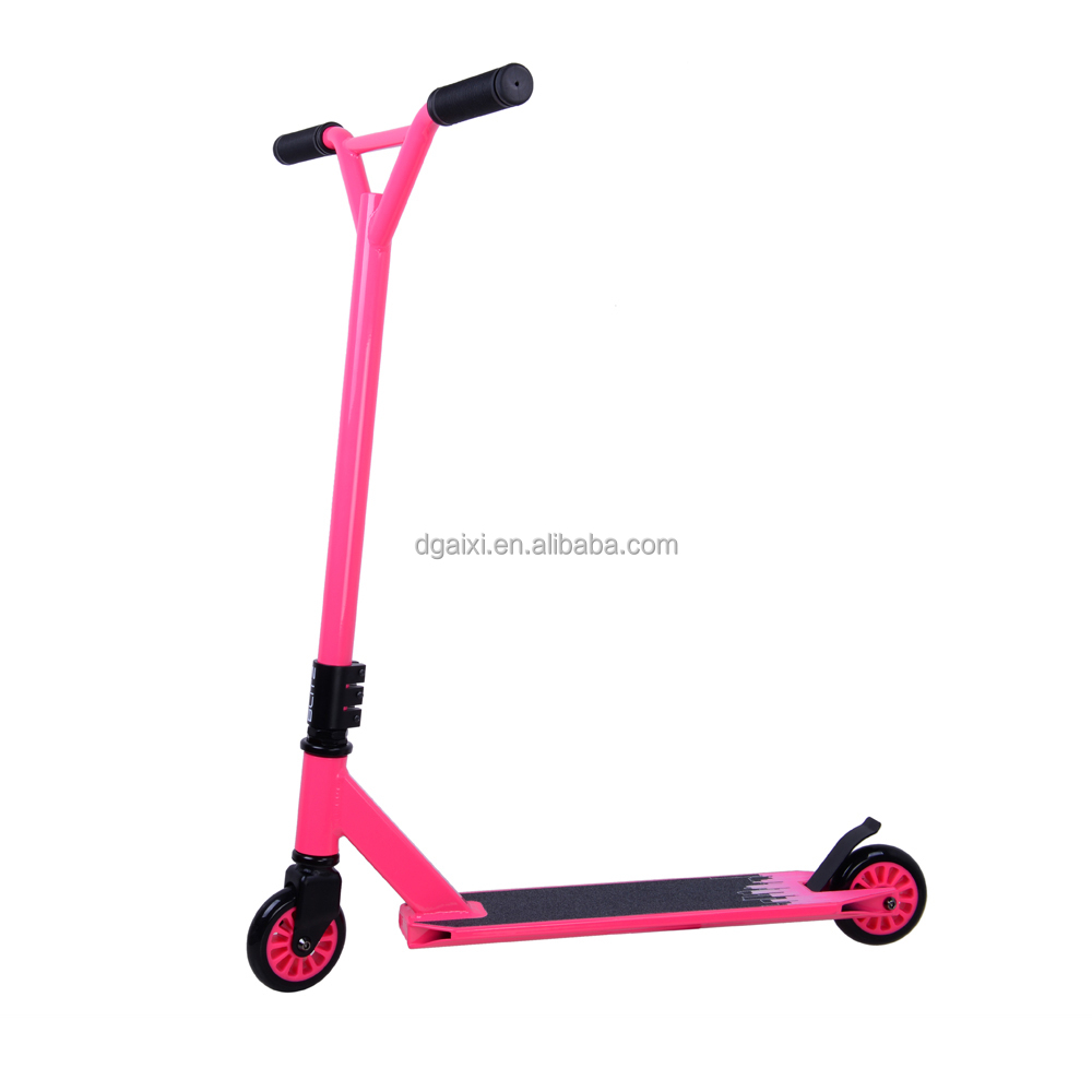 2015 New Blitz Cheap Scooter Pink Color Freestyle Pro Cheap Kids Scooter For Girl