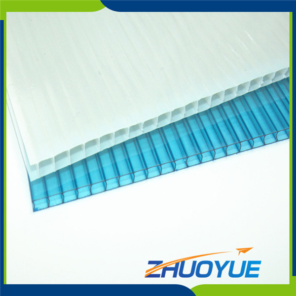 cixi zhuoyue 4x8 clear polycarbonate hollow plastic sheet