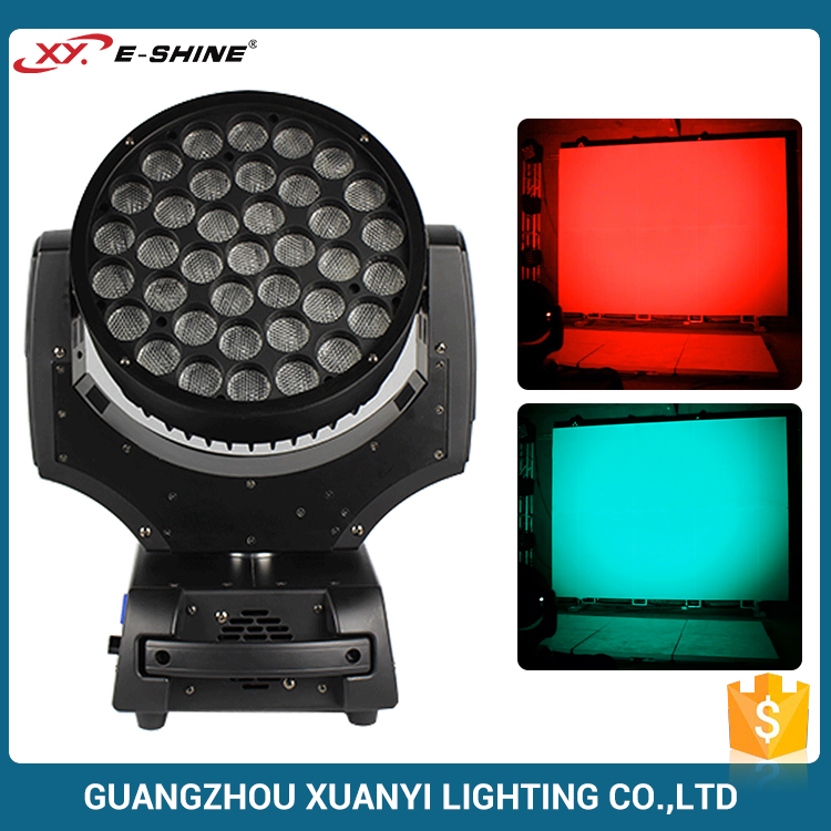 Copy Robe Robin 600 37*10W 4In1 Led Moving Head Light Led Light Professional Dj Equipment