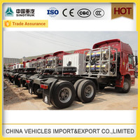 sinotruk CNG 6x4 tractor cheap utility vehicle in china manufacturer
