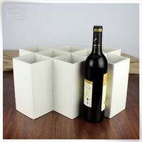 oem pu leather two bottle boxes wine gift boxes