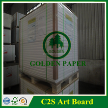 cheap 300g c2s art paper glossy matte in good condition
