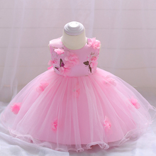 Hot Selling Summer Frock Designs Pictures Small Baby Party Wear Kids Girls Dress L1839xz