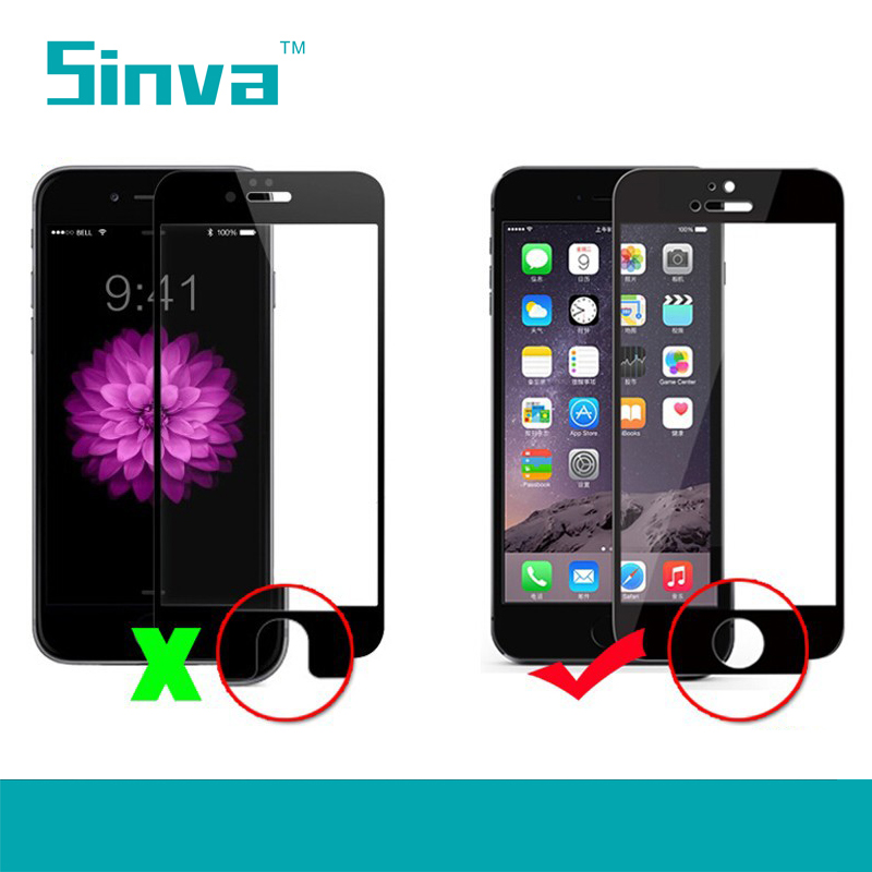 In stock factory price Newest curved mirror color smart touch mobile phone tempered glass screen protector film