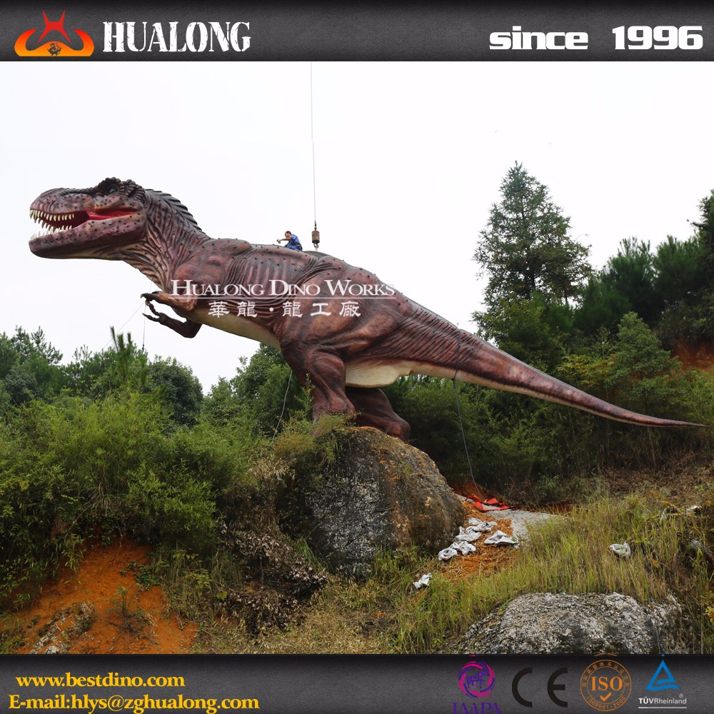 Outdoor Playground Large Scale Animatronic T-Rex Dinosaur