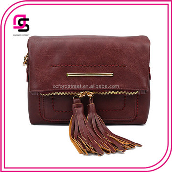 Multi-purpose Fashion Lady Tassel PU Bag And Clutch Wallet Handbag