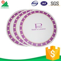 Eco Friendly Colorful Disposable tea party paper plates
