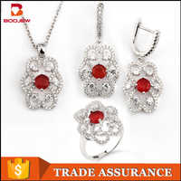 Imitation jewelry fashion rings earrings pendant full set jewellery traditional south indian jewellery