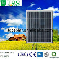cheap price 65w poly solar panel in China