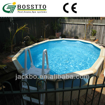 Galvanized Steel Material Swimming Pool For Home Or Park Use Buy Above Ground Swimming Pool