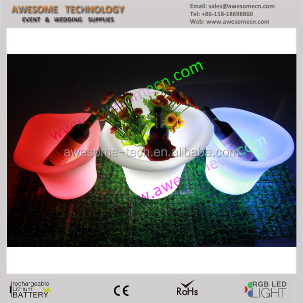 Plastic Party Tub with led light