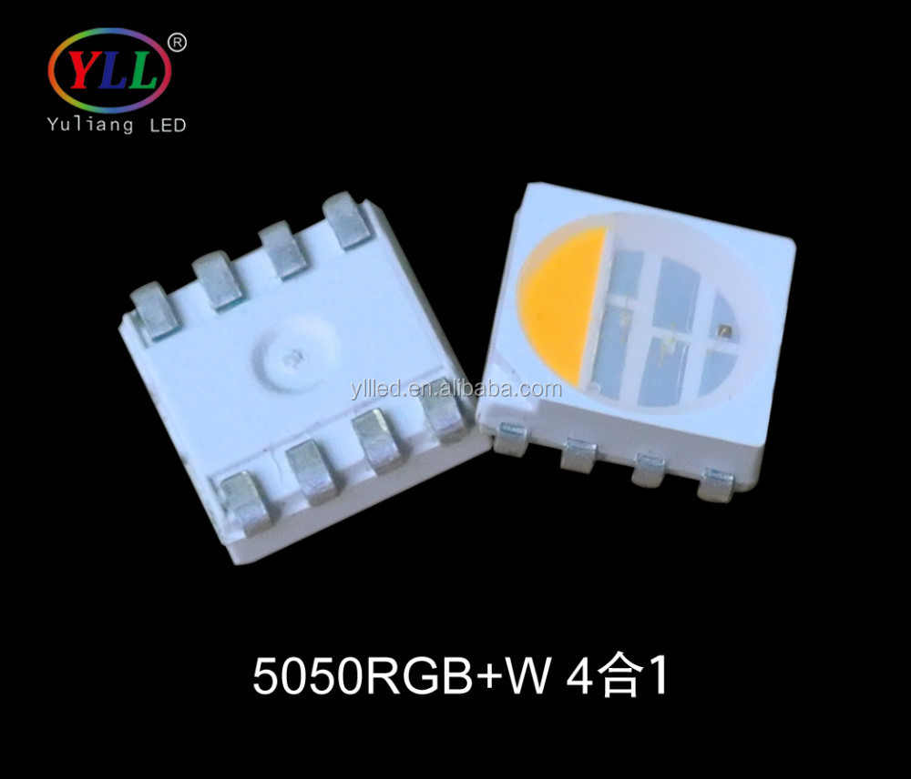 LED Vanguard Yuliang 5050RGB+<strong>W</strong> SMD LED LM80 and Eu En62471 approval