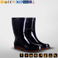 China New Rubber & PVC Rain Boot & PVC injection boots