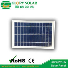 Polycrystalline PV Modules Price 6W 12V Solar Panel For Home Electricity Pump Irrigation System