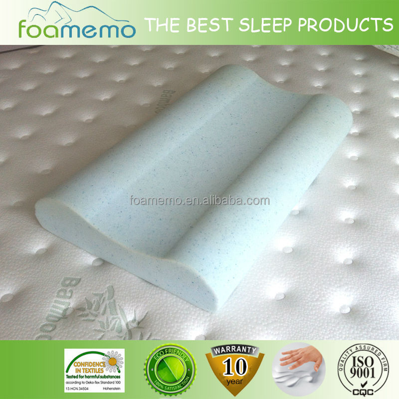 As Seen On TV Standard Size Travel half moon Memory Foam Pillow