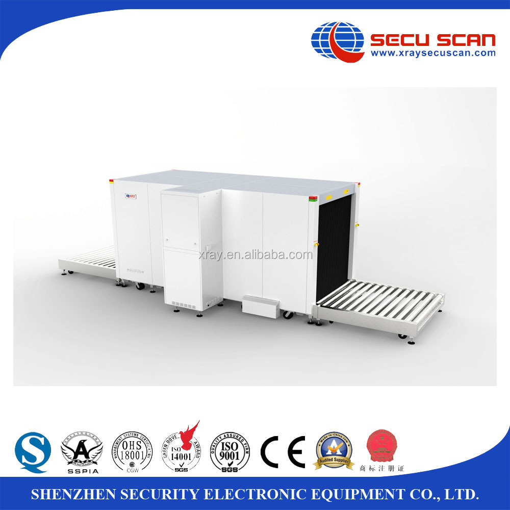 SECU SCAN 2016 New Model Big Size X Ray Baggage Scanner for Pallet Inspection