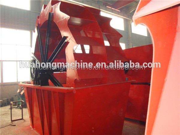 China used Wheel type sand washer, sand washing machine used for sand, slag, <strong>pellet</strong>