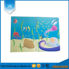 China cute children's books cover coated paper printing cover with glossy film