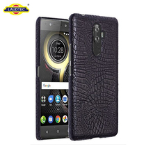 Premium PU Leather Phone Case Cover For Lenovo K8 Note