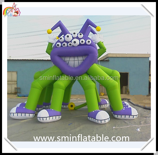 Giant inflatable monster, airblown inflatable multi feet monster model for advertisint promotion