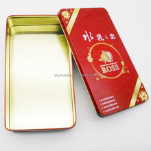 High quality custom tin empty luxury cosmetic container packing
