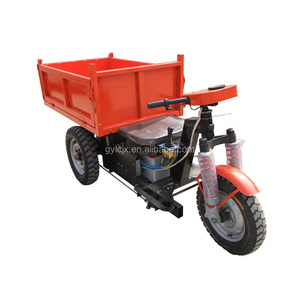 800cc Heavy Duty Cargo 3 Wheel Tricycle With Open Cabin