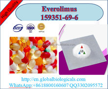 Medical Pharmaceutical high quality human Use white powder Everolimus CAS 159351-69-6