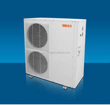 10.5KW heat pump with heating, cooling DHW functions and CE certificate