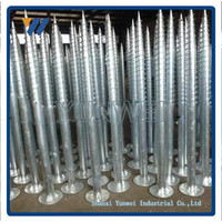 Manufacturer For Solar Mounting Hot Dipped Galvanized Ground Screw