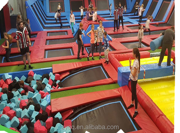 Indoor Trampoline Park Cheap Rectangle Trampoline