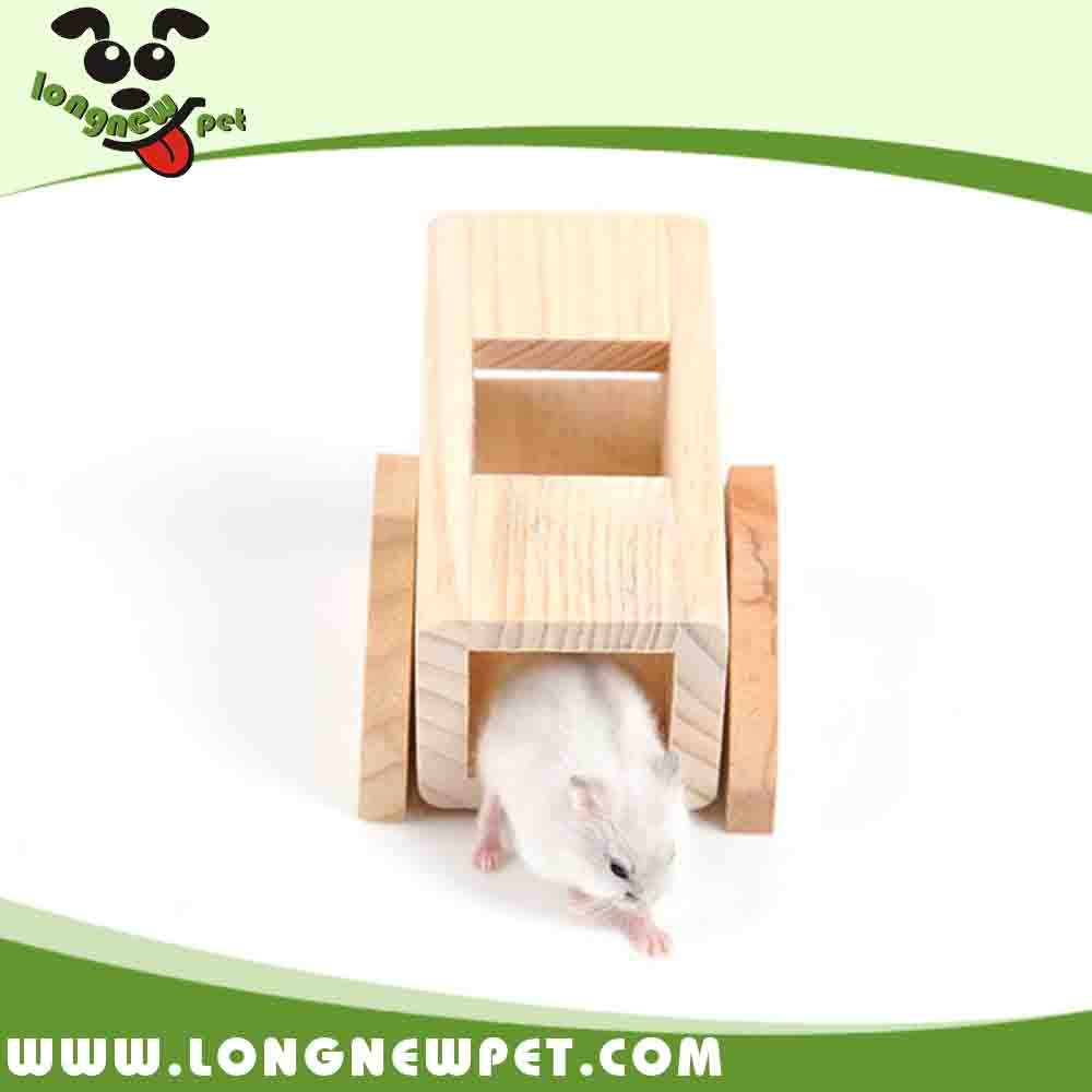 Natural Wooden Seesaw Toys for Hamster