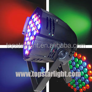 Hot sale DJ club lighting 36x3w led par 64 can dj equipment led mini par rgbw