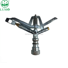 1 inch zinc alloy head rocker farm agriculture with lawn irrigation sprinkler nozzle drought field sprinkler