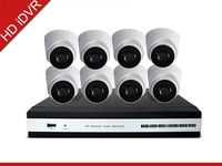 HD iDVR New Products! PLC - Power Line Communication 4CH NVR Kit Home Security CCTV camera system