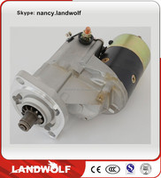 Construction machinery parts SANY engine PC200-1 excavator engine parts starter motor