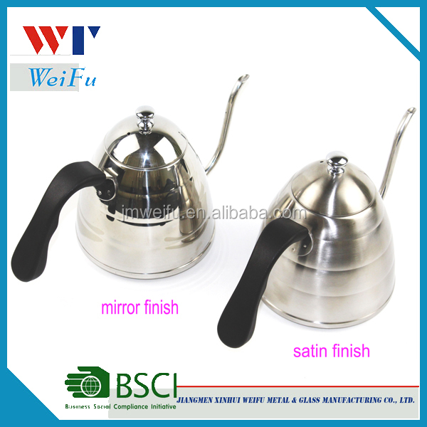 900ML Hand Dripping Pour Over Coffee Tea Drip Kettle