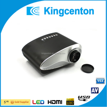High quality mini projector for cell phone tablets 1920*1080 mini led projector best gift home theatre projector