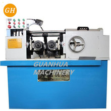 Vertical flat die thread making machine thread rolling machine